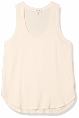 Three Dots Women's QQ0568 Brushed Sweater Racerback Tank