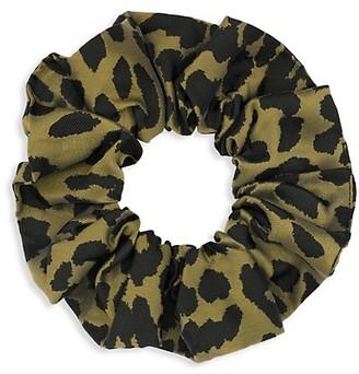 Ganni Leopard Hair Tie