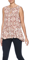 Cupcakes & Cashmere Marlow Ruffle Tank