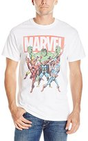 Marvel Men's Character Group Men's T-Shirt