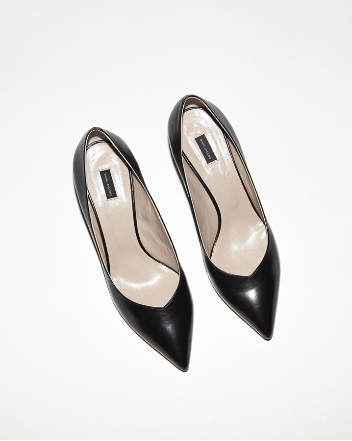 Marc Jacobs ayers heel pump