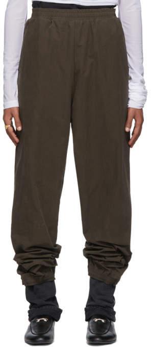 Y/Project Khaki Denim Cuff Lounge Pants