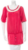 Blumarine Lace-Accented Tunic