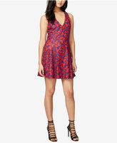 Rachel Roy Two-Tone Lace Fit & Flare Dress