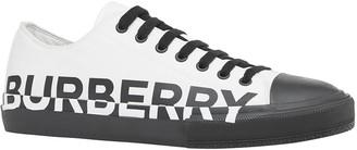Burberry Men's Larkhall Two-Tone Logo Sneakers