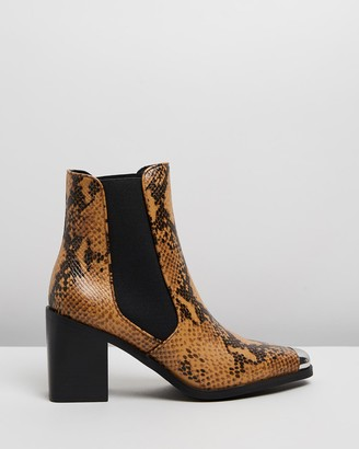Senso Women's Brown Heeled Boots - Hero II - Size One Size, 40 at The Iconic