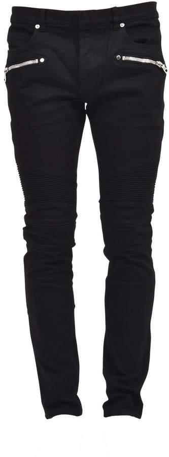 Balmain Black Cotton Pants
