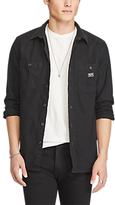 Denim & Supply Ralph Lauren Work 2 Pocket Regular Shirt, Black