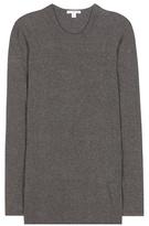 James Perse Cotton-blend long-sleeved T-shirt