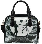 Angelinana Custom Women's Handbag The Nightmare Before Christmas 1 Fashion Shoulder Bag