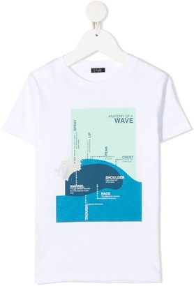 Il Gufo Jersey T-shirt With Front Print