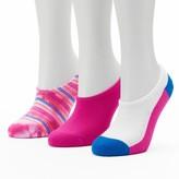 Converse Women's Made For Chucks 3-pk. Tie-Dye Striped Liner Socks
