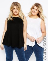 Asos Girly Swing Top 2 Pack