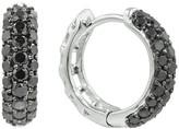Effy Jewelry Prism Black Diamond Earrings, 1.0 TCW