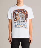 AllSaints Snake Crew T-Shirt