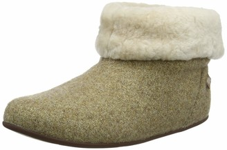 FitFlop Women's Sarah Shearling Glimmer Hi-Top Slippers