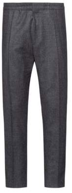 HUGO Extra-slim-fit trousers in houndstooth wool