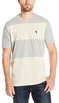 U.S. Polo Assn. Men's Cut and Sewn Wide-Stripe T-Shirt