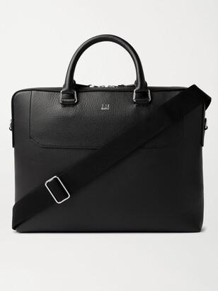 Dunhill Belgrave Full-Grain Leather Briefcase - Men - Black