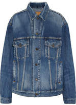 Balenciaga Oversized Denim Jacket - Mid denim