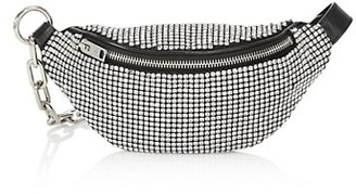 Alexander Wang Mini Attica Rhinestone Mesh Belt Bag