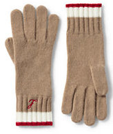 Lands' End Women's Cashmere Gloves-Snowboarder