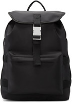 A.P.C. Black Sylvain Backpack