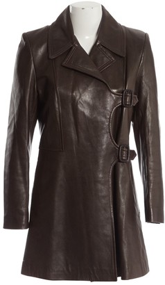 Barbara Bui Brown Leather Jacket for Women