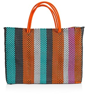 Truss Large Leather Tote