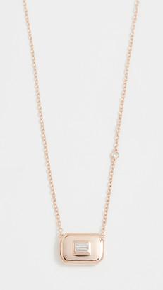 Shay 18k Essential Baguette Diamond Necklace