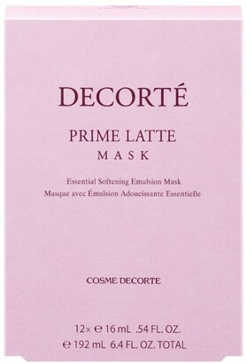 Decorté Prime Latte Facial Mask (Pack Of 12)