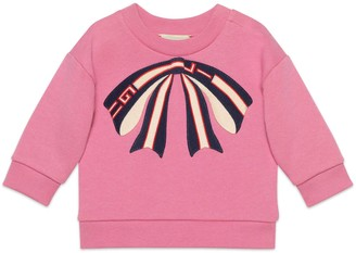 Gucci Baby sweatshirt with bow