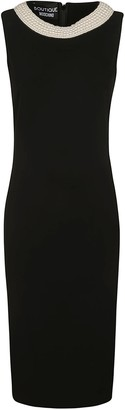 Moschino Back Zip Sleeveless Dress