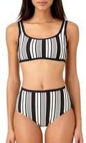 Anne Cole Striped Bikini Top