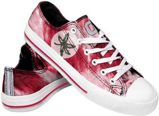 Women's Ohio State Buckeyes Tie-Dye Canvas Shoe