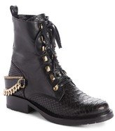Lanvin Women's Chain Biker Boot
