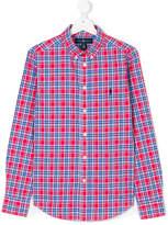 Ralph Lauren checked button down shirt