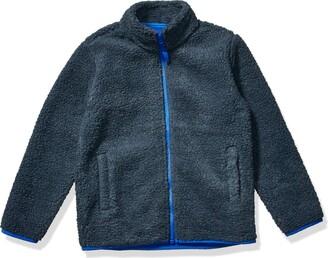 Amazon Essentials Full-zip High-pile Polar Fleece Jacket Exploded Red Buffalo Check 2T