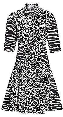Proenza Schouler White Label Women's Flared Shirt Dress