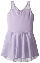 Bloch Embroidered Mesh Dress (Toddler/Little Kids/Big Kids)