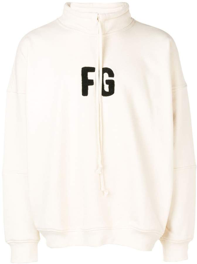 Fear Of God logo sweatshirt