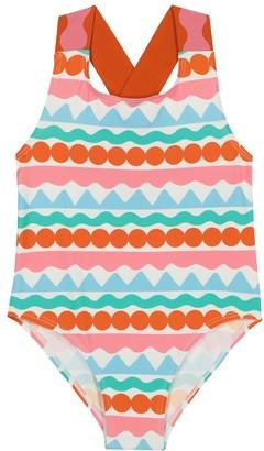 Stella McCartney Kids Printed swimsuit