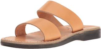 Jerusalem Sandals Women's Aviv Rubber Slide Sandal Gray 38 EU/7 M US