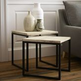 west elm Box Frame Nesting Tables - Wood Top