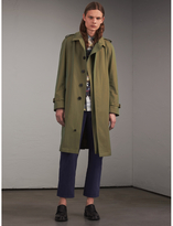 Burberry Oversize Storm Shield Tropical Gabardine Trench Coat