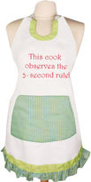 MANUAL WOODWORKERS AND WEAVER Women's This Cook Observes 5-Second Rule Apron