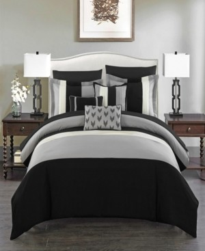 Chic Home Ayelet 8 Piece Twin Bed In a Bag Comforter Set Bedding