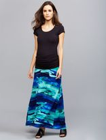 A Pea in the Pod Under Belly Side Slit Maternity Skirt