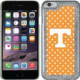 Coveroo Apple iPhone 6/6s Silver Glitter-Bling Thinshield Case with University of Tennessee Mini Polka Dots, Full-Color Design