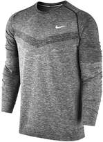 Nike Dri-FIT Knit Mens Running Long Sleeve Shirt / Top Size M
